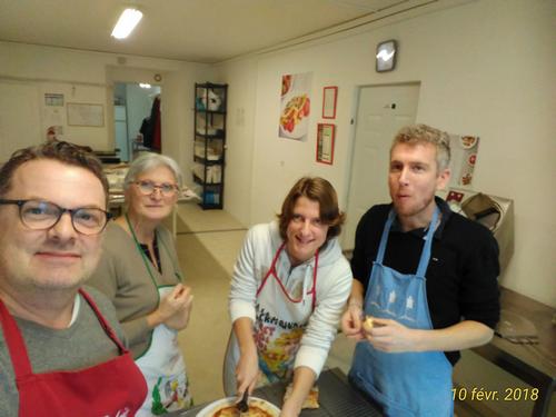 Cours de cuisine pour particuliers
